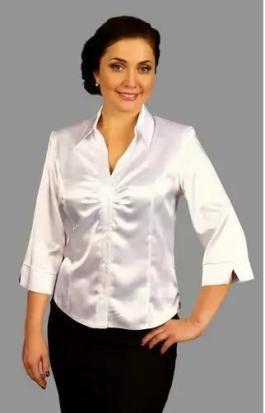 Белые Блузки Для Полных Женщин В Волгограде